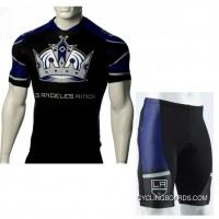 Copuon Nhl Los Angeles Kings Cycling Jersey Bike Clothing Cyclist Outfit Cycle Garb Shorts Set Kit Tj-882-4619
