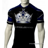 Los Angeles Kings Cycling Jersey Short Sleeve Tj-166-3671 Outlet