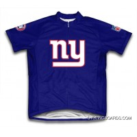 New Year Deals Nfl New York Giants Short Sleeve Cycling Jersey Bike Clothing Tj-456-6172
