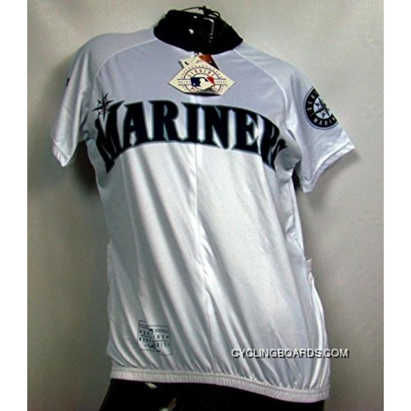 New Style MLB Seattle Mariners Cycling Jersey Short Sleeve TJ-978-6629 ... fcb31288a