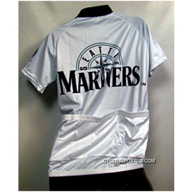 ... New Style MLB Seattle Mariners Cycling Jersey Short Sleeve TJ-978-6629 7fce456e1