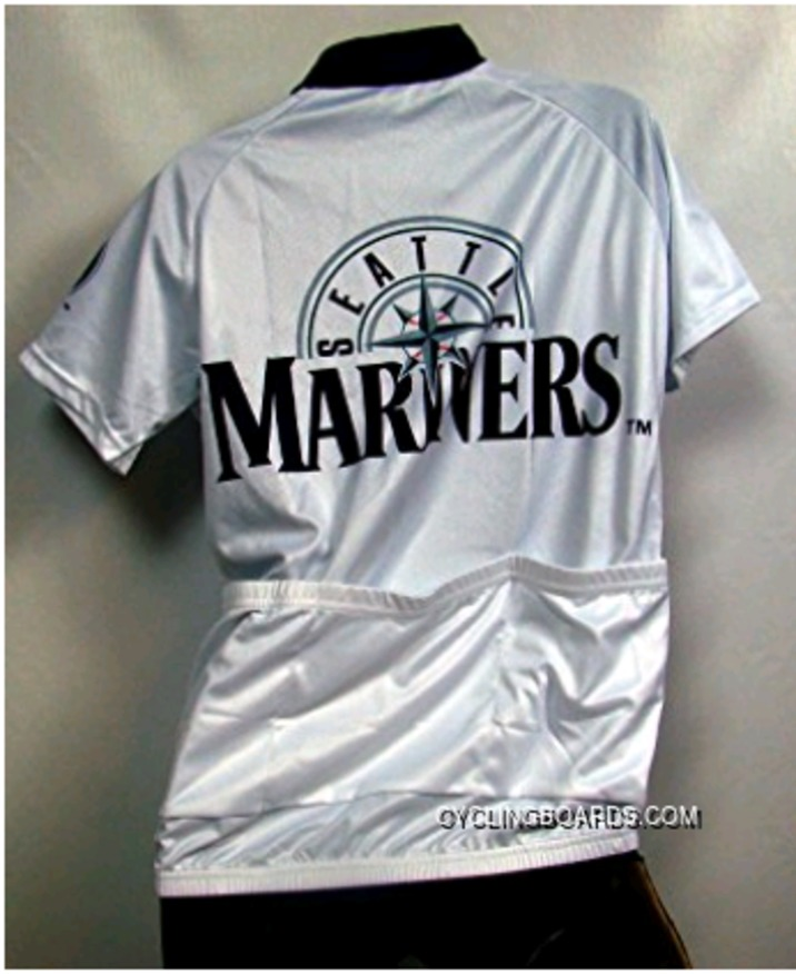 New Style MLB Seattle Mariners Cycling Jersey Short Sleeve TJ-978-6629 1bdfb9ee7